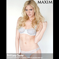 Brittany Snow Strips Down For <em>Maxim</em>
