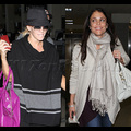 Jenny McCarthy And Bethenny Frankel: Hot Mamas At LAX