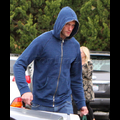 Alex Skarsgard Can't Hide His Hotness Under A Hoodie