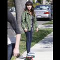 "<em><span class=""exclusive"">EXCLUSIVE PHOTOS</span></em> - Miley Cyrus' Little Sister Noah Is A Skater Girl"