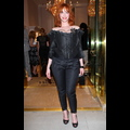 Christina Hendricks And Marilyn Manson Bring Sizzle To Vivienne Westwood Store Opening
