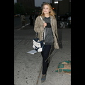 <em>Glee</em> Girl Dianna Agron Takes A Break From Filming To Enjoy NYC
