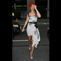 Rihanna Stops Traffic In NYC