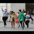 The Cast Of <em>Glee</em> Jumps For Joy