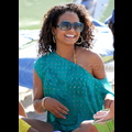 Christina Milian Soaks Up The Sun With Daughter Violet