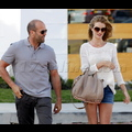 "<em><span class=""exclusive"">EXCLUSIVE PHOTOS</span></em> - Jason Statham And Rosie Huntington-Whiteley Get Ready For Summer"