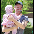 Eric Dane Takes Baby Billie To The Playground