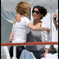 Salma Hayek Meets Antonio Banderas And Melanie Griffith For Lunch In Cannes