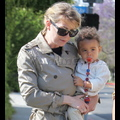 Ellen Pompeo Steps Out With Baby Stella