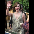 Milla Jovovich Is A Golden Goddess In Cannes