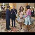 President Obama And First Lady Michelle Visit William and Kate