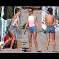 Alessandra Ambrosio Looks Good From Every Angle