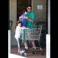 "<em><span class=""exclusive"">EXCLUSIVE PHOTOS</span></em> - Adam Sandler Takes His Lovely Ladies On A Shopping Trip"