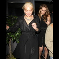 "<em><span class=""exclusive"">FIRST PHOTOS</span></em> - Lindsay Lohan Parties With Emile Hirsch Her First Night Out Of House Arrest"