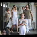 <em>Transformers 3</em> Hottie Rosie Huntington-Whiteley Treats Boyfriend Jason Statham To Lunch