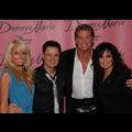 David Hasselhoff Introduces His Young Girlfriend To Old Friends Donny And Marie Osmond