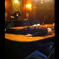 Hugh Hefner Is Dying To Be A Planking Superstar