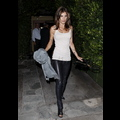 Elisabetta Canalis Dines Solo While Ex-BF George Clooney Gets Cozy With Stacy Keibler