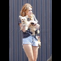 """<em><span class=""""exclusive"""">EXCLUSIVE PHOTOS</span></em> - Miley Cyrus Finally Off The Road With Roadie"""