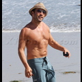 Jeremy Piven Illegally Lights Up On The Beach