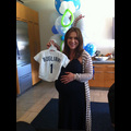 Alyssa Milano Throws Baseball-Themed Baby Shower At Dodger Stadium
