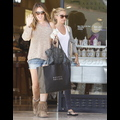 Ashley Tisdale And Haylie Duff Drop Cash At Barneys