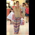 Rebecca Gayheart Shops For Baby