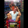 Patrick Schwarzenegger Goes School Supply Shopping With Mom Maria Shriver