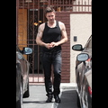 David Arquette's Muscles Get Ink'd By Daughter Coco
