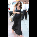 Pregnant Rebecca Gayheart Goes Bumpin' Through LA