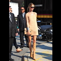 Rosie Huntington-Whiteley Brings Her Model Good Looks To Fashion Week