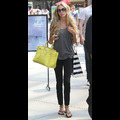 Barefaced Petra Ecclestone Cruises LA With Her Bright Yellow Birkin