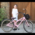 "<em><span class=""exclusive"">EXCLUSIVE PHOTOS</span></em> - Noah Cyrus Takes Her Pretty Pink Wheels For A Joy Ride!"