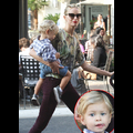 Model Karolina Kurkova And Her Son Enjoy An Afternoon Shopping Day