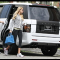 Petra Ecclestone Cruises With Custom Car