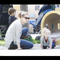 Amy Adams Has Mommy And Me Time At The Playground
