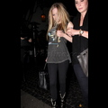 "<em><span class=""exclusive"">EXCLUSIVE PHOTOS</span></em> - Avril Lavigne Keeps Us Guessing With Loose Tank Top"