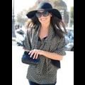 Lea Michele Looks <em>Glee</em>-ful After Touching Down In Paris