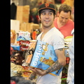 Pete Wentz And Bronx Buy Their Halloween Costumes