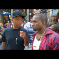 Kanye West And Russell Simmons Support Occupy Wall Street Protesters