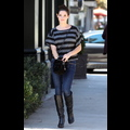 Ashley Greene Busts Out Her Boots For A Lunch Date
