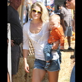 Ali Larter Takes Son Theodore To Pick Out His First Pumpkin