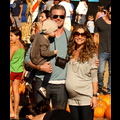 Eric Dane And Rebecca Gayheart Take Billie (And Their Bump!) To The Pumpkin Patch