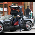 Eddie Murphy Flaunts His Pricey Benz