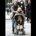 Naomi Watts Takes Her Little Vampires For A Stroll