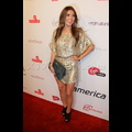 Audrina Patridge Glitters In Gold On The Red Carpet