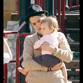 Samantha Ronson Shows Off Her Maternal Side