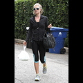 Ali Larter Flaunts Her Fit Figure In Skintight Spandex