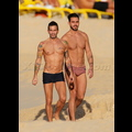 Designer Marc Jacobs Flaunts His Sexy Bod With Ex Boyfriend
