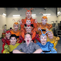 Neil Patrick Harris Meets A Colorful Crew Backstage At Cirque du Soleil